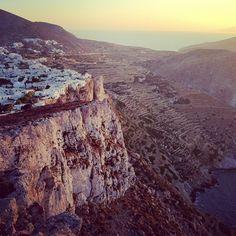 Folegandros island by @Mary Kouinoglou