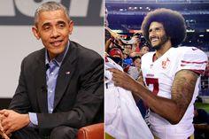 Obama defends Kaepernick's national anthem protest