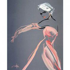 Choisir En Vogue Canvas Wall Art