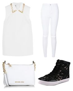 """""""White day"""" by kikiflawless on Polyvore featuring beauty, Miu Miu, Michael Kors and Rebecca Minkoff"""
