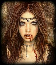 Vampire makeup. Halloween here I come <3