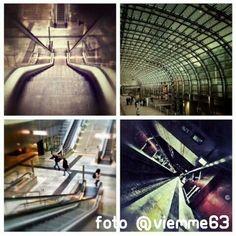 """""""Porta Susa composition"""". #Torino raccontata dai cittadini per #inTO. Foto di viemme63. #urban #railway"""