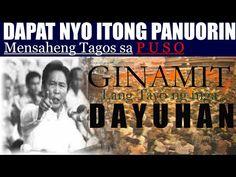 GINAMIT LANG TAYO PARA MAGKAHIWA-HIWALAY AT MAGKAWATAK-WATAK - YouTube President Of The Philippines, Presidents, Youtube, Youtubers, Youtube Movies