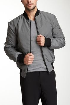 For him: adidas SLVR Bomber Jacket
