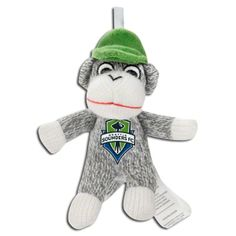 It wouldn't be the Holiday season without some Seattle Sounders FC Christmas decorations to make it jolly! Seattle Sounders, Seattle Mariners, Seattle Seahawks, Seattle Mist, Team Gear, Soccer Fans, Christmas Decorations To Make, Sock, Monkey