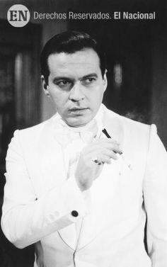 """Gustavo Rodríguez como Pedro Estrada en """"Estefanía"""", que transmitió RCTV. Para muchos, el mejor personaje de Gustavo Rodríguez. 1979 (ARCHIVO EL NACIONAL)"""
