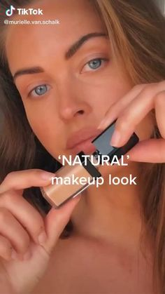 Natural Makeup Look Tutorial, Makeup Looks Tutorial, Natural Makeup Looks, Gigi Hadid Makeup Tutorial, Makeup Tutorial Videos, Makeup Eye Looks, Skin Makeup, Makeup Art, Makeup Hacks