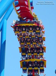 My favorite ride! Superman Ultimate Flight at Six Flags over Georgia.