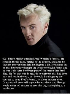 Funny pictures about The sad story of Draco. Oh, and cool pics about The sad story of Draco. Also, The sad story of Draco. Harry Potter Triste, Magia Harry Potter, Harry Potter Sad, Harry Potter Quotes, Harry Potter Draco Malfoy, Facts About Harry Potter, Draco Malfoy Quotes, Draco Malfoy Fanfiction, Harry Potter Sweets