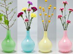Vase Laboratory Pastel 26cm Assorted