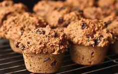 Recipe: Whole Wheat, Low Fat, Vegan Bran Muffins