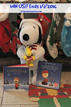 WIN a Snoopy Porch Greeter & the 50th Anniversary Book 'A Charlie Brown Christmas' (Giveaway ends 1/1/16)