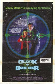 Private: Cloak & Dagger 1984 Authentic x Original Movie Poster Dabney Coleman Crime U. One Sheet Best Movie Posters, Original Movie Posters, Film Posters, 80s Movies, Good Movies, Awesome Movies, Cult Movies, Comedy Movies, Action Movies