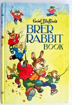 Enid Blyton& Brer Rabbit Book by Enid Blyton 1970s Childhood, My Childhood Memories, Childhood Toys, Sweet Memories, Old Children's Books, Vintage Children's Books, Enid Blyton Books, Rabbit Book, Ladybird Books