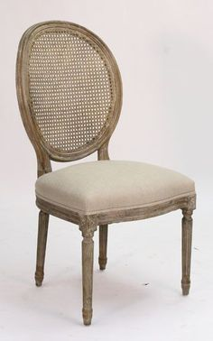 Gray Cane Back Dining Chair Dining chairs Gray and Woods