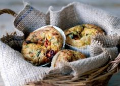 Recipe: Cheese, Tomato, and Courgette Muffins
