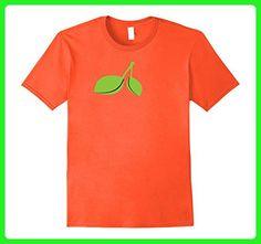 Mens Orange Costume Shirt Cute Cheap Halloween Costume Fruit Tee 2XL Orange - Holiday and seasonal shirts (*Amazon Partner-Link)