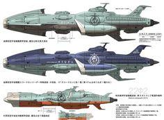 """""""ヤマト2202は沖田艦が量産されてるのか・・・それなのにアンドロメダ建造っ"""