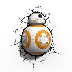 Star Wars 3D LED Leuchte BB-8 - Lampe