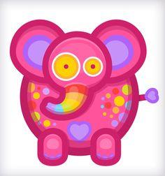 Rainaphant! ( 'Θ' ) Elephant, Children, Illustration, June, Young Children, Boys, Kids, Elephants, Illustrations