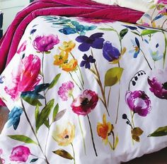 Shared from Flipp: BLUEBELLGRAY Flower Field Double/Queen Duvet Cover Set and Quilt in the Hudson's Bay flyer