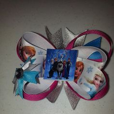 Disney's Frozen Hairbow by LindsaybugBowtique on Etsy, $12.00