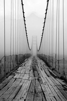 One day i want this framed on my wall. It makes you wonder where the bridge leads
