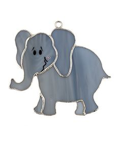 Elephant Stained glass night light cover. Remember to look for our rotating plug on our website!