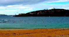 Playa de Mera   (La Coruña) Spain