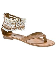 Zigi Soho beaded sandals - got these for when we went on our honeymoon to Jamaica. Still one of my favorite sandals!