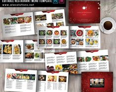 This is an editable indesign and photoshop template so you can use it again and again as your Food Menu change. Please check if you have Photoshop or Indesign in your computer before order this template. Word Template, Food Menu Template, Restaurant Menu Template, Menu Templates, Design Templates, Restaurant Design, Applique Templates, Menu Bar, Cafe Menu