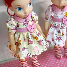 "Yellow ... Doll clothes for Disney animator dolls 16""."
