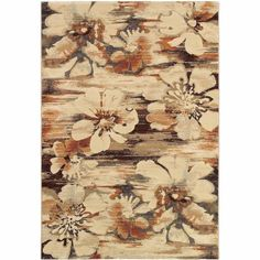 Couristan Easton Mosaic Florals Rug, Multi-Colored, Multicolor