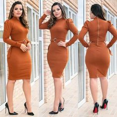 Plus size outfits Night Outfits, Classy Outfits, White Fashion, Covet Fashion, Nice Dresses, Casual Dresses, Latest African Fashion Dresses, Workwear Fashion, Western Dresses