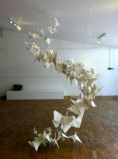 paper thoughts: Origami Installation Workshop
