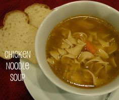 Homemade Chicken Noodle Soup-is there anything better on a cold day?