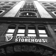 Guinness Storehouse My goal is to set up a little tent inside next to the still. It's like a beer scented nirvana in there