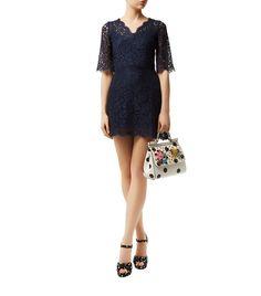 Women: Mini Dresses Dolce & Gabbana Lace Mini Dress