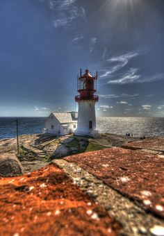 Photograph Lindesnes light house by Nils Erik Palm Fauske on 500px