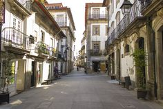 2 must-see Celtic sights of Portugal - via Worth Every Moment Jan. 2015 | Thought that Celtic history was reserved to the Irish? Think again. Photo: Old town, Viana do Castelo, Portugal