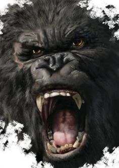 KING KONG by EMZAAK.deviantart.com on @deviantART