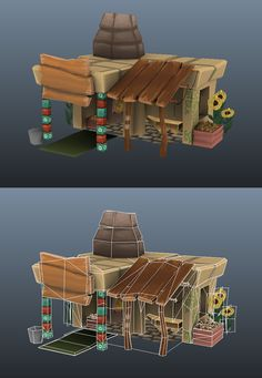 LOWPOLY (sub 1000~ triangle models) - Page 394 - Polycount Forum