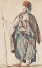 'Voyage à Athènes et à Constantinople ou Collection de portraits, de vues, et de costumes grecs et ottomans', by Louis Dupré, 1825.