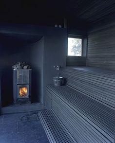 Sauna by Jordens Arkitekter - Architecture - Private housing Sauna House, Sauna Room, Modern Saunas, Sauna Shower, Portable Sauna, Outdoor Sauna, Sauna Design, Finnish Sauna, Spa Rooms