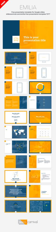 84 best free presentation templates images on pinterest in 2018, Google Presentation Template Free, Presentation templates