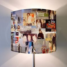 picture collage lamp.