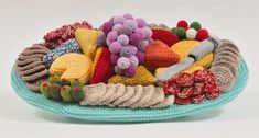 A crocheted cheese platter that's too good to be true - Trevor Smith