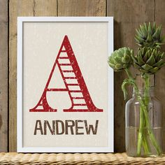 Hey, I found this really awesome Etsy listing at https://www.etsy.com/listing/229433355/boys-nursery-decor-red-brown-and-off