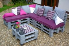 Over 50 Creative DIY Pallet Sofa Ideas 2016 - Cheap Recycled Pallet - Am...