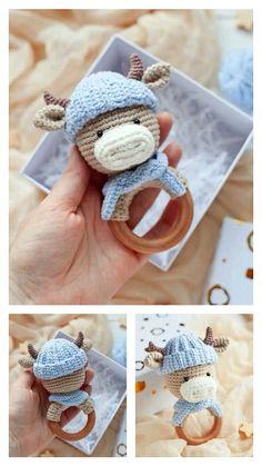Crochet Toys, Crochet Baby, Free Crochet, Step By Step Crochet, Magic Ring, Learn To Crochet, Loom, Free Pattern, Crochet Earrings